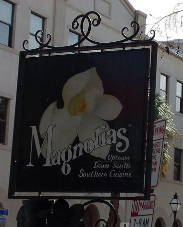 Magnolias Sign