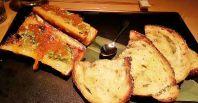Miso Glazed Roasted Bone Marrow with Grilled Sourdough