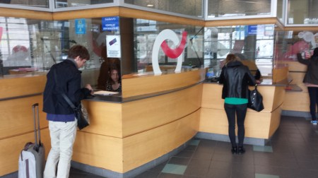 Rennes Bus Station Ticket Window