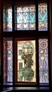 Mayor Hall Right Stained Glass