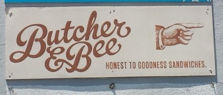 This Way to Butcher & Bee!