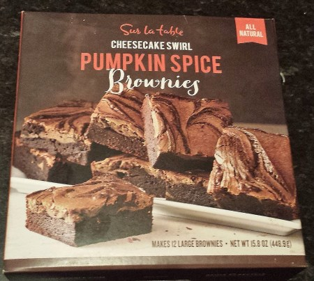 Sur la Table Pumpkin Spice Brownie Mix