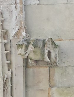 Dragon Gargoyle on Rouen Cathedral