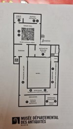 Rouen Antiquities Museum Floor Plan