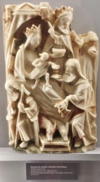 Rouen Antiquities Museum Ivory Adoration of the Magi