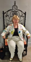 Therese in Grand Iron Chair