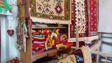 Veliko Turnovo Rug Shop - Courtesy of Therese Steen