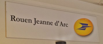 Jeanne d'Arc Post Office Sign