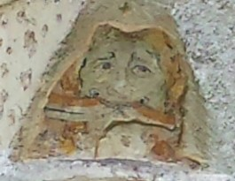 Jumieges Abbey Face Decoration