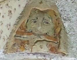 Jumieges Abbey Face Decoration