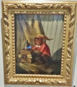 Painting of Monkey with Magic Lantern