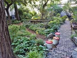Albert's Garden Brick Walkway