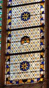 Church of St Ouen Stained Glass Detail