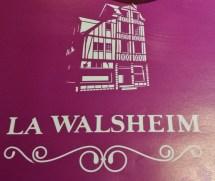 La Walsheim Menu