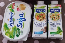 Soy Margarine, Coconut and Soy Milks