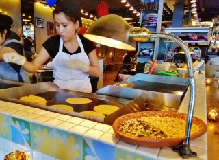 Tortilla Maker at Rosie's