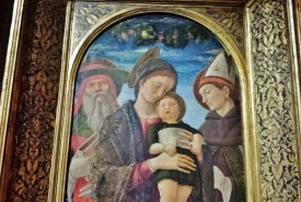 Virgin and Child by Mantegna