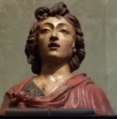 Bust of John the Baptist by Benedetto da Maiano