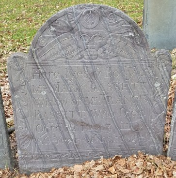 Copp's Hill Gravestone with Streaks