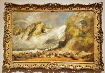 Fall of the Rhine at Schaffhausen by J.M.W. Turner