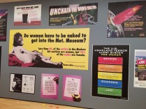 Guerilla Girls Exhibit at BMA