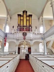 Old North Church Interior