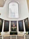 Old North Church Window Above the Altar