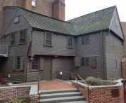 Paul Revere House from the Rear