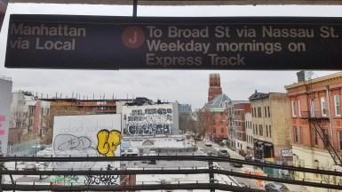 The J Train to Manhattan