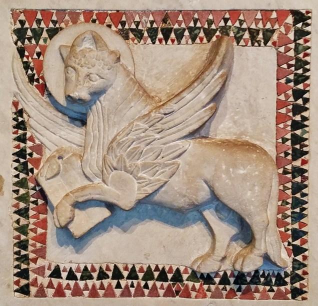 Winged Lion Cloister Gardner Museum