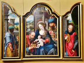 Adoration of the Magi by Pieter Coecke van Aelst the Elder (16th century)