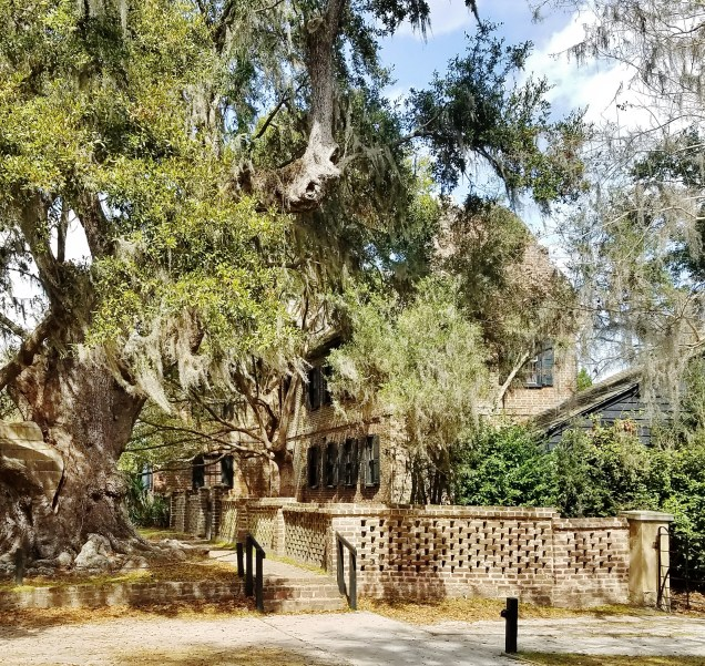 Middleton Place House Museum Surrounded by Trees