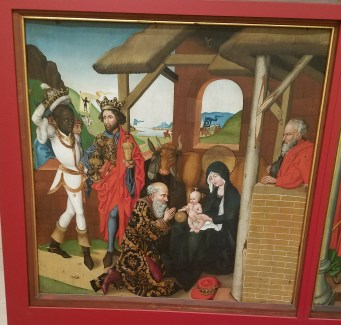Adoration of the Magi by Martin Schongauer(2)