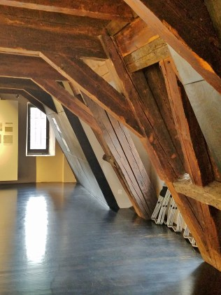 Attic Room with Rafters