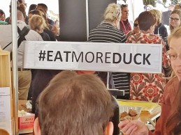 Eat More Duck Sign