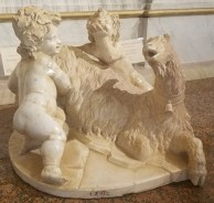 Gian Lorenzo Betrnini's Goat Amalthea with the Infant Jupiter and a Faun