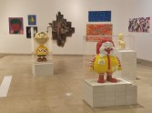 Ron English Sculptures in MACRO Gallery
