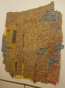 Then, the Flashes of Spirit by El Anatsui