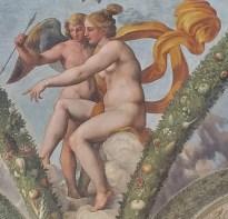Cupid and Psyche in Villa Farnesina