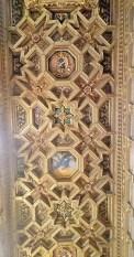 Domenichino's Ceiling in Santa Maria in Trastevere