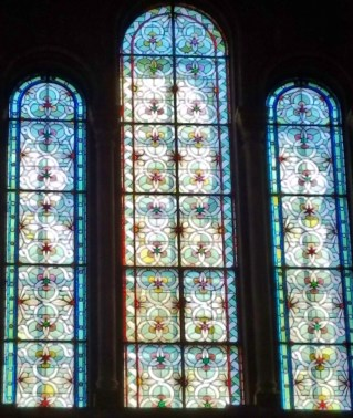 Eglise Temple Neuf Stained Glass Windows