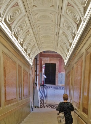 Staircase Between First and Second Floors in Villa Farnesina