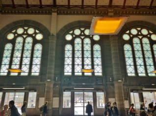 View from the Interior of the Gare Centrale Strasbourg