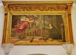 Annunciation by Titian Scuola Grande di San Rocco