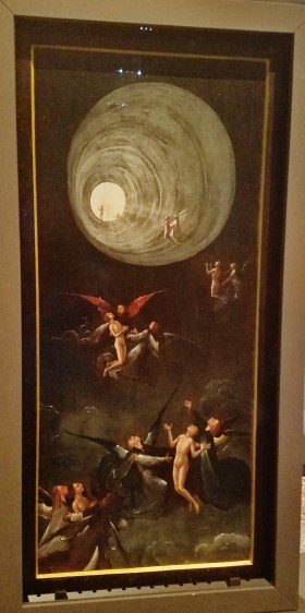 Visions of the Hereafter - Ascent into Heaven by Bosch