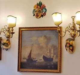 Wall Decoration Trattoria Dona Onesta