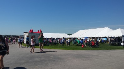 Bounce Houses, Education & Kids' Tents, Petting Zoos, Farm Tours, and more! We enjoyed beautiful weather for families at the 2016 Kewaunee County Breakfast on the Farm!