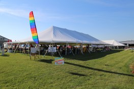 Our Kids Tent offers all sorts of fun and activities!