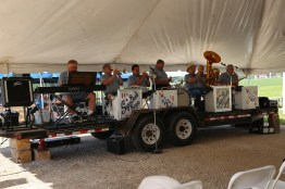Sugar Bush Boys provided live music at the 2016 Kewaunee Country Breakfast on the Farm