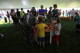Everyone had fun in the kids tent at the 2016 Breakfast!